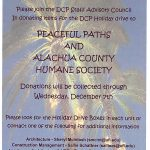 DCP Holiday Food Drive: Now Through Dec. 7